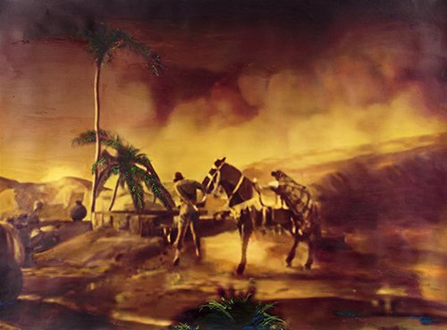 Centaur Rodeo - Pamela Golden Painting