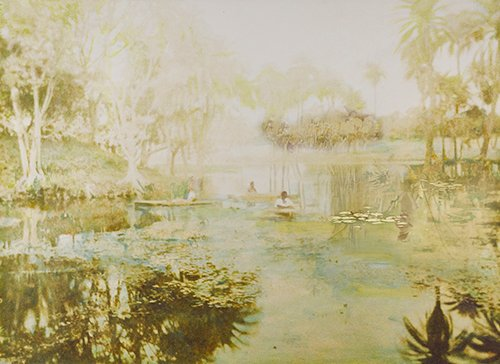 Ivy Serpent - Pamela Golden Painting